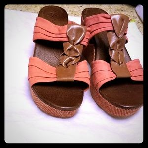 Naya Leather Sandals by Size 11 New